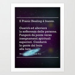 Il Pranic Healing è buono Art Print