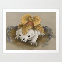 Cusaur Art Print