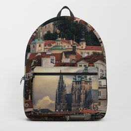 Sunny day in Prague Backpack