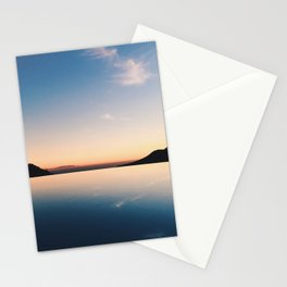 Mirrored Sunset Stationery Cards