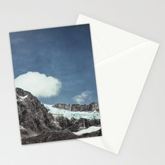 mountains and ice Stationery Cards