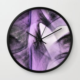 Heart Art Wall Clock