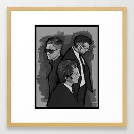 Interpol Framed Art Print