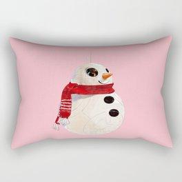 Snowman BB8 Rectangular Pillow