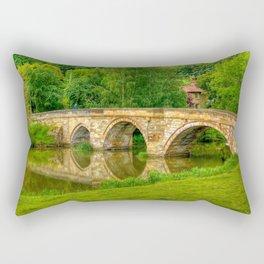 Kirkham Bridge - River Derwent  Rectangular Pillow