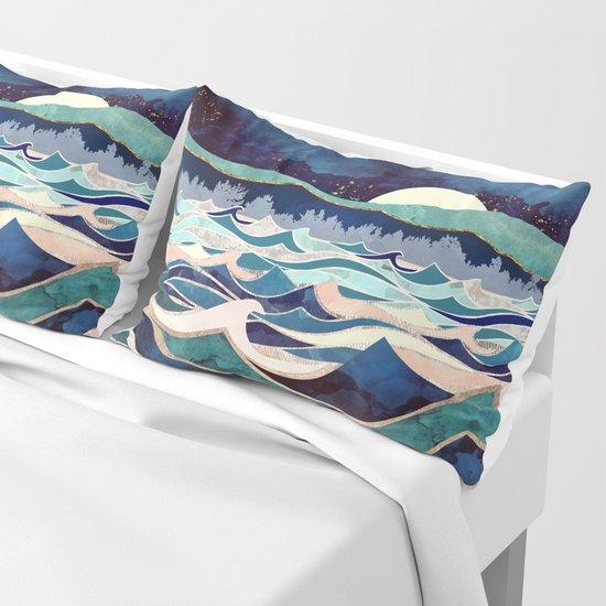 Moonlit Ocean by spacefrogdesigns