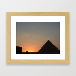 In Conclusion Framed Art Print