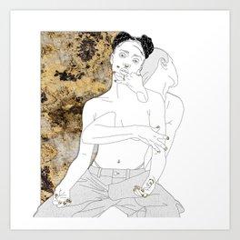 M3LL155X Art Print