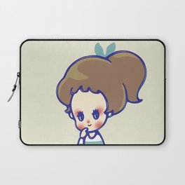 why are you smiling? Laptop Sleeve