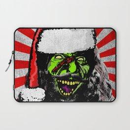Evil Old St Nick Laptop Sleeve