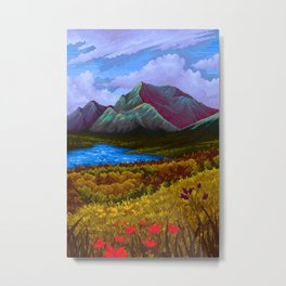 Mountain v2 Metal Print