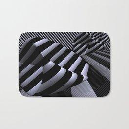 Steiner's Surface in OpArt-design Bath Mat