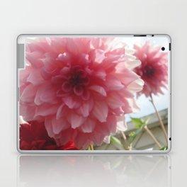 Pretty Pink Dahlia Ruffles Laptop & iPad Skin