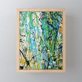 Echoed Splatter Framed Mini Art Print