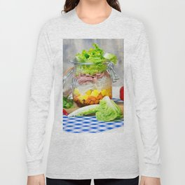 Lunch in a glass Long Sleeve T-shirt