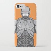 robocop iPhone & iPod Cases featuring Robocop  by EkaPerdana27