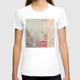 on a city street ...  T-shirt