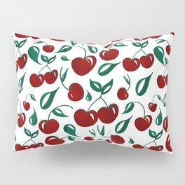 Cherries - repeat pattern Pillow Sham