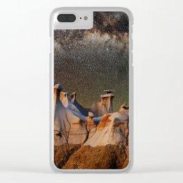 Cappadocia galaxy Clear iPhone Case