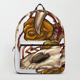 Golden Panther Backpack