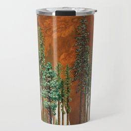 I Look up to You (Bigfoot in the Forest) Travel Mug
