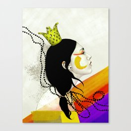 I accept my power Canvas Print