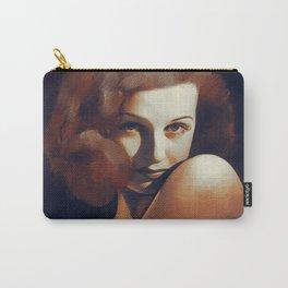 Joan Bennett, Hollywood Legend Carry-All Pouch