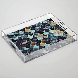 REALLY MERMAID - MYSTIC BLUE Acrylic Tray