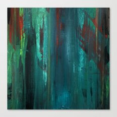 Gravity Painting No.1 Canvas Print