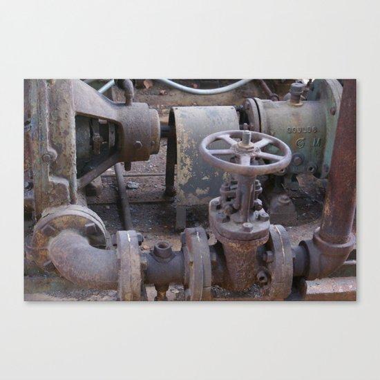 factory 2 Canvas Print