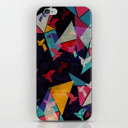 Origami Flight iPhone Skin