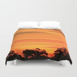 Okavango Sunset Duvet Cover