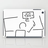 engineer iPad Cases featuring mechanical engineering engineer by Lineamentum