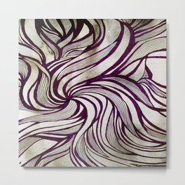 More Swirlls Metal Print