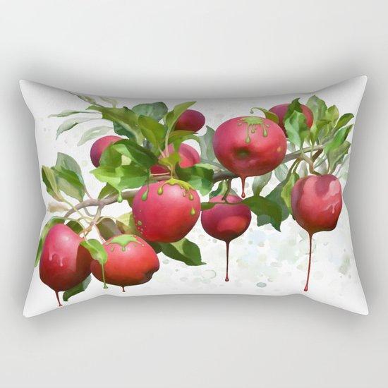 Melting Apples Rectangular Pillow
