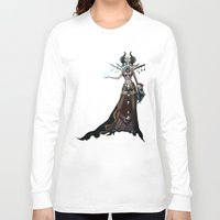 witch Long Sleeve T-shirts featuring Witch by Samera Tseng