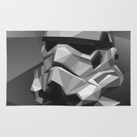 stormtrooper Area & Throw Rugs featuring Stormtrooper by Filip Peraić