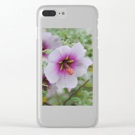 Gentle Hues Clear iPhone Case