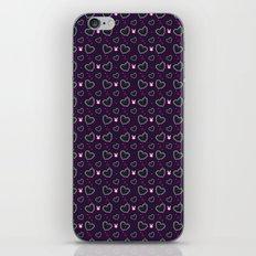 Pixel Heart Love iPhone & iPod Skin