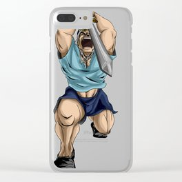 Fin el macho!!! Clear iPhone Case