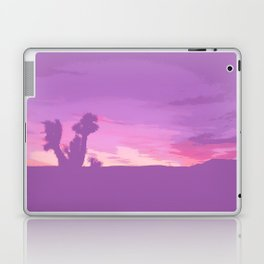 Lavender Joshua Sunset - Pop_Art Laptop & iPad Skin