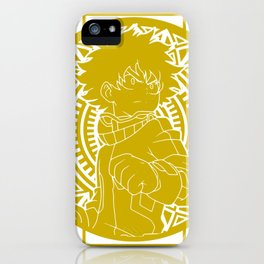 Stained Glass - My Hero Academia - Izuku Midoriya iPhone Case