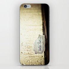 Hello Rain iPhone & iPod Skin