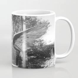 """The """"Wings of the City"""" sculpture exhibit by Mexican Artist Jorge Marín 5 Coffee Mug"""