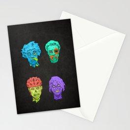 Zombie Quartet Stationery Cards
