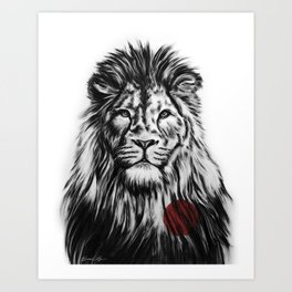 I Am With You Art Print