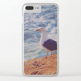 Ocean Sentry Clear iPhone Case