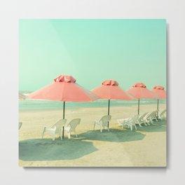 Pink Row II Metal Print
