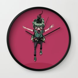 Jump to freedom Wall Clock