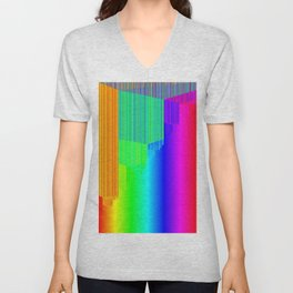 R Experiment 4 (quicksort v2) Unisex V-Neck